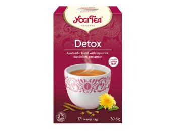 Yogi bio tisztító /Méregtelenítő/ tea 17 filter