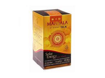 Mandala bio tea solar energy 20 filter