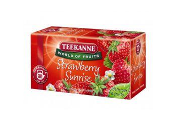 Teekanne strawberry sunrise tea 20 filter