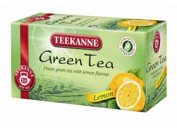Teekanne zöld tea citrommal 20 filter