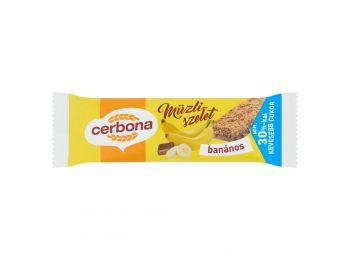 Cerbona szelet banános 20g