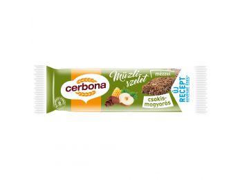 Cerbona szelet csokis-Mogyorós-Mézes 25g