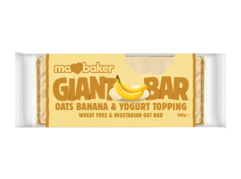 Ma baker óriás zabszelet banán-Joghurt 100g