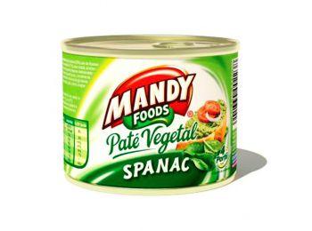 Mandy növényi pástétom spenótos 200g