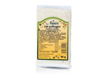 Natura zab pudingpor vaníliás 40g