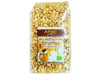 Naturgold bio puffasztott durumbúza mézes 200g