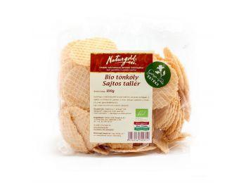 Naturgold bio tönkölytallér sajtos 100g