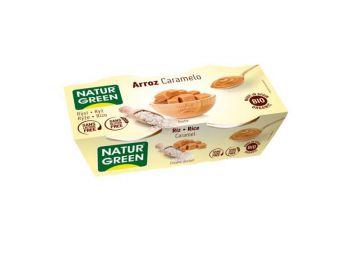 Naturgreen bio rizs desszert karamell 2X125g