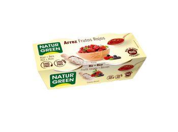Naturgreen bio rizs desszert vörösgyümöcs 2X125g