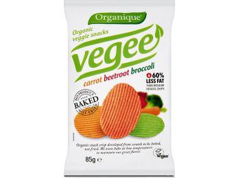 Organique bio vegee zöldséges chips 85g
