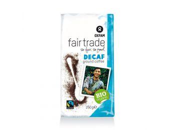 Oxfam bio fair trade koffeinmentes őrölt kávé 250g