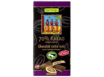 Rapunzel bio keserűcsokoládé 70% 80g