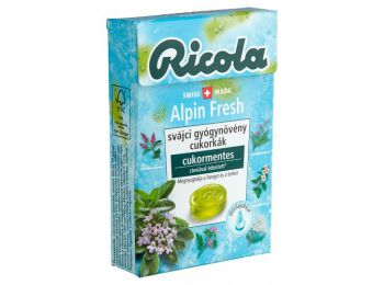 Ricola cukor alpin fresh 40g