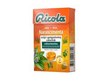 Ricola cukor narancs-Menta 40g