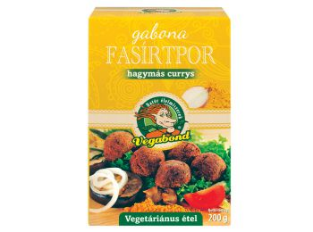 Vegabond gabona fasirtpor hagymás-Currys 200g