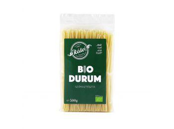 Rédei bio tészta durum fehér spagetti 500g