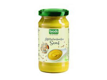 Byodo bio mustár enyhén csípős 200ml