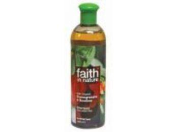 Faith in Nature Bio Gránátalma és Rooibos Tusfürdő (400ml)