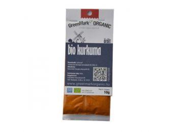 Greenmark bio fűszer kurkuma őrölt 10g