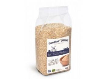 Greenmark bio szezámmag hántolt 250g