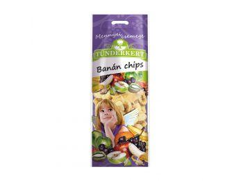 Tündérkert banán chips 60g