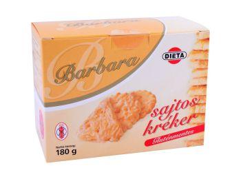 Barbara gluténmentes kréker sajtos 180g