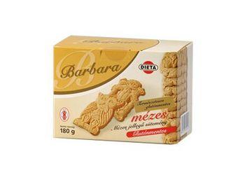 Barbara gluténmentes mézes teasütemény 200g