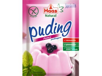 Haas puding puncs natural 40g