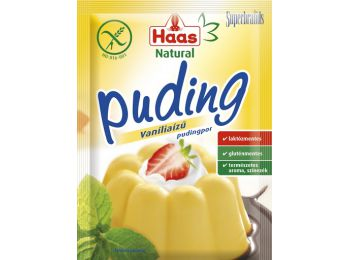 Haas puding vanilia natural 40g