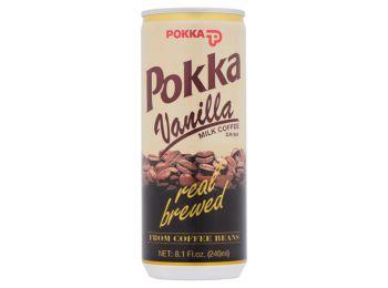 Pokka kávé vaníliás 240ml