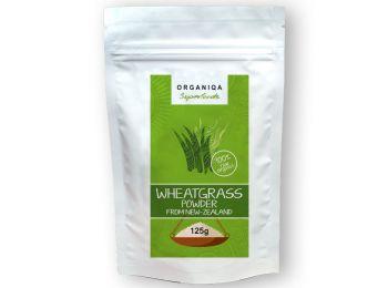 Organiqa 100% bio búzafű por - Raw Organic Wheatgrass Powd
