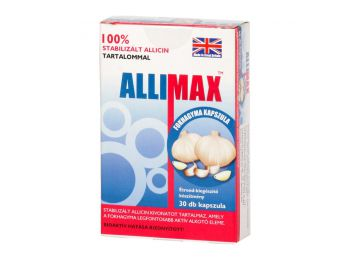 Allimax fokhagyma kapszula 30db