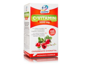 1x1 c-vitamin 1000 mg filmtabletta csipkebogyó 100db