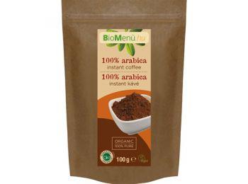 Biomenű bio 100% arabica instant kávé 100g