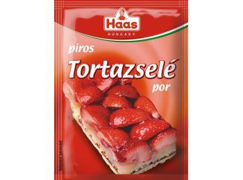 Haas natural tortazselé piros 11g
