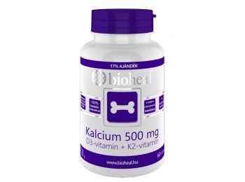 Bioheal kalcium+d3 vitamin tabletta 70db