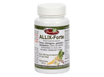 Pharmaforte Allix-forte kapszula 60db