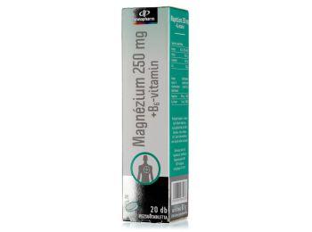 Innopharm magnesium+b6 pezsgőtabletta 20db