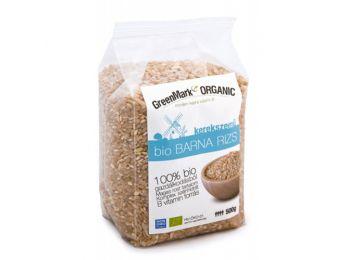 Greenmark bio barna rizs kerekszemű 500g