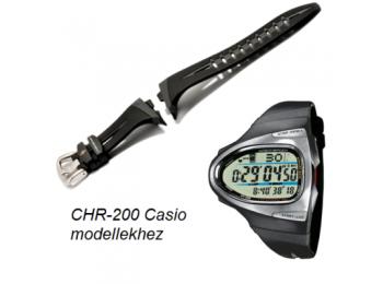 CHR-200 Casio fekete műanyag szíj
