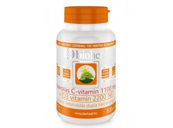 Bioheal acerolás c+d3-vitamin kapszula 105db