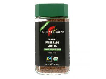 Mount hagen instant kávé koffeinmentes 100g