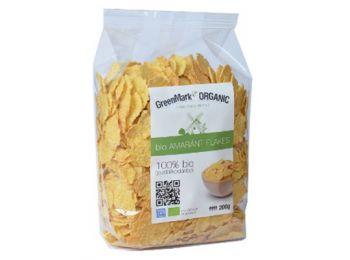 Greenmark bio amaránt flakes reggelizőpehely 200g