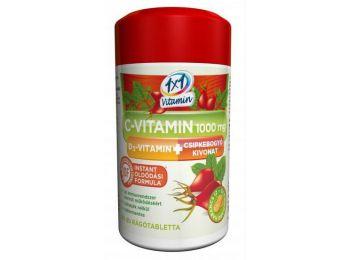 1x1 c-vitamin 1000 mg+d3-vitamin+csipke retard 50db