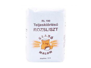 Szabó malom teljes kiőrlésű rozsliszt rl-190 1000g