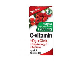 Dr.chen c-vitamin 1200mg+d3+cink+acerola+csipkebogyó tabletta 105db