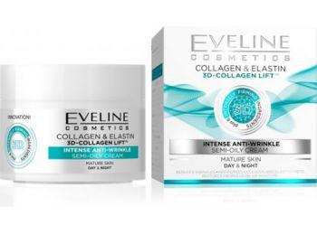 Eveline 3d collagen intenzív ránctalanító arckrém 50ml