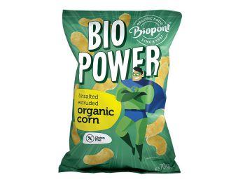 Biopont bio power extrudált bio kukorica sótlan gluténmen