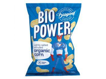 Biopont bio power extrudált bio kukorica enyhén sós glut�
