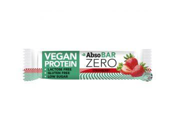 Absobar zero protein szelet eper ízű 40g